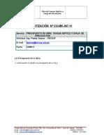 Cotizacion Tanque Septico