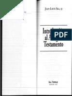 Introducciòn al Antiguo Testamento. Jean-Louis Ska, Sj.pdf