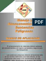 ALMACENAMIENTO DE SUSTANCIAS PELIGROSAS.PPT
