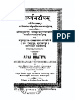 Aryabhatiya with Tika of Paramesvara and Hindi Translation - Uday Narayan Singh 1906.pdf