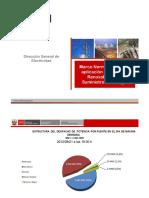 05 OSINERG 121113 PRE JMG Marco Legal Energias Renovables Matriz Energetica