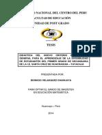 TESIS DIDÁCTICA DEL NUEVO CRITERIO OPERACIONAL GENERAL PARA EL APRENDIZAJE DE LA DIVISIBILIDAD DE ESTUDIANTES DEL PRIMER ~1