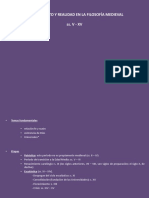 Filosofía. Tema 2. Conocimiento y realidad en la filosofía medieval
