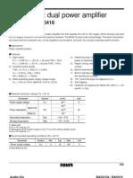 Datasheet ic - Ba5415