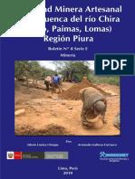 E008-Boletin Actividad Minera Artesanal Cuenca Rio Chira