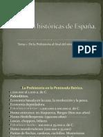 De La Prehistoria Al Final de La Hispania Romana.