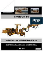Manual Mantto Troidon 55 - Jmc-164