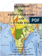 Krishna-Godavari and Cauvari Basin