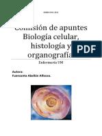 Comisión de Apuntes Biología Celular, Histología y Organografía.