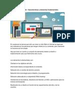 Diseño de Un Sitio Web