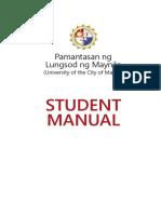 PLM Student Manual v1