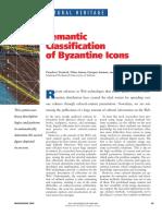 Clasificarea Semantica a Icoanei Bizantine