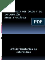 Aines y Analgésicos Opiaceos
