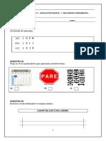 AVALIAÇÃO DIAGNÓSTICA 1 ANO LINGUA PORTUGUESA.pdf
