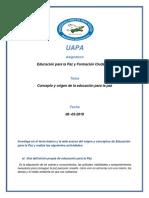 Tema 1 de Educacion Para La Paz (1)