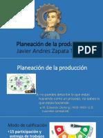 Planeacion de La Produccion Final
