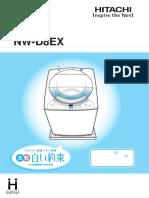 manual de lavadora hitachi