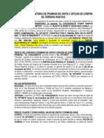 Contrato Preparatorio Promesa y Opcion de Venta Delta Del Norte Sac & Campos