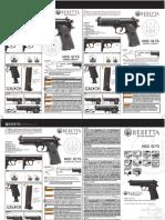 Manual Beretta 92FS Spring Airsoft 07R11