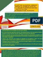 Letchumanan Chettiar Alagappan (sebagai Pentadbir kepada Sl Alameloo Achi (Si Mati)) & Anor V. Secure Plantation Sdn Bhd [2017] 5 CLJ 418, Mahkamah Persekutuan, Putrajaya
