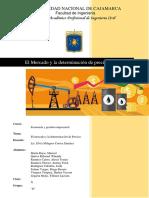 Mercado y Determinación de Precios EJEMPL