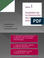 2-Clase 1 Tecnologia Educativa Blearning