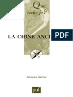 La Chine ancienne (Jacques GERNET) [10e éd., 2005] +
