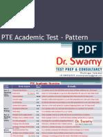 PTE Test Pattern Presentation