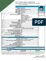 Application Muddada Srinivas Rao