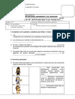 Evaluacion Historia Pueblos Originarios en Laactualidad