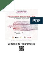 Caderno de Programação_Abrapso Minas 2018
