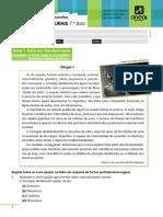 Fossilização, Deriva Continental e doformação do material+correção- 7ºano.pdf