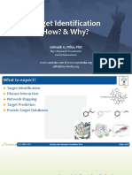 Target Identification - Gene Disease and Protein Target Prediction
