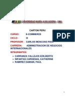 Carton Peru