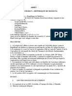 Document Arret