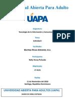 Universidad Abierta Para Adulto (Tarea I)