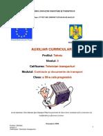 Auxiliar curricular Controlul documentelor de transport