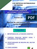 Gestión Logística, Aplicaciones y Oportunidades