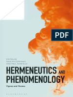 Saulius Geniusas, Paul Fairfield (Eds.)-Hermeneutics and Phenomenology Figures and Themes-Bloomsbury (2018)