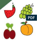 Frutas de Ingles