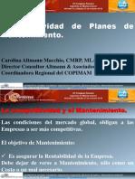 5.- Carolina Altmann URUGUAY Efectividad Planes de Mantenimiento