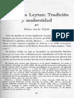 Nleson Osorio Sobre Hijuna de Leyton, Buscar en El Texto Antecedentes de La Novela Social