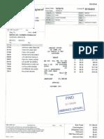Invoice# 50184661 - Maria Del Carmen Gonzalez (Paid)