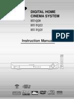 User manual Home Cinema Samsung 20060309163350406_HT-Q20-GB.pdf