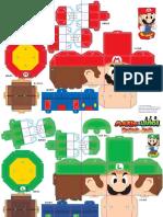 Downloads Mario Luigi Yoshi Goomba