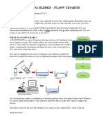 Flow Chart Poster- Making Slides