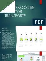 Facturación en El Sector Transporte