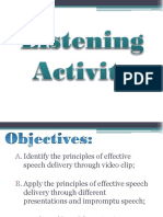 Principles of Effective Speech Delivery
