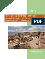 INFORME N°2 ING.SANITARIA DIAZ CASTILLO-IDENTIFICAR EL DIAGNOSTICO FISICO DEL DISTRITO DE ACOBAMBA -HUANCAVELICA