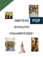 Installation en Boulangerie